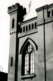Gothic window looking Gothic, 1970 (Kingston Museum and Heritage Service, K1-2579)