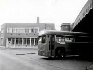 Norbiton Bus Garage, 1968 (Kingston Museum and Heritage Service, K1-3422)