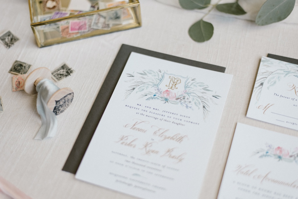 Greenery Wedding Invitation Suite | Blush Paper Co.