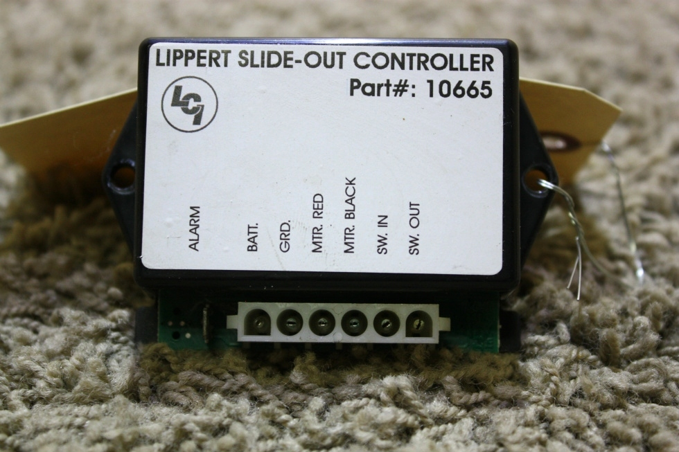RV Components USED RV LIPPERT SLIDE OUT CONTROLLER 10665