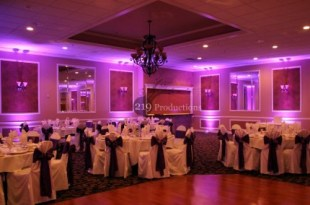Uplighting Ambassador Banquets Hobart Indiana 3