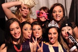 Photobooth Group wedding photo American Legion