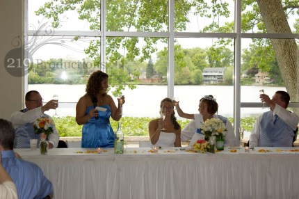 Wedding Toasts Slicker