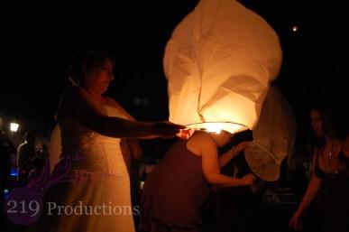 Wedding Lantern Lighting