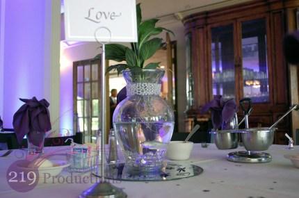 Wedding Centerpiece Clubhouse Northwest Indiana