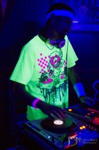 DJ Segal Black Light Dance Party