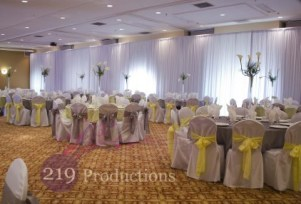 Wedding Drapery Indian American Cultural Center Merrillville Indiana