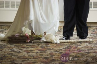 Jumping the broom Innsbrook Country Club Wedding