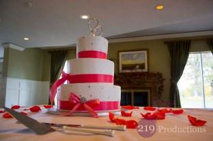 Wedding Cake Innsbrook Country Club Merrillville Indiana