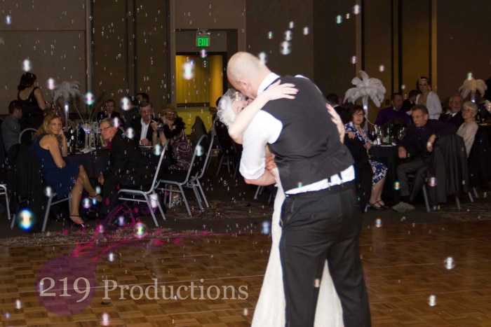 Radisson Wedding DJ Bubbles