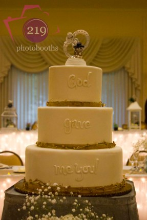 Banquets of St George Wedding Cake