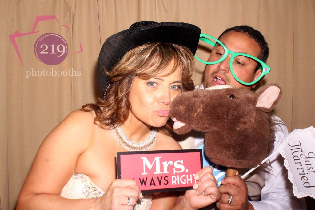 Banquets of St George Wedding Photobooth Burlap Country