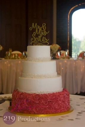 Wicker Park Wedding Cake