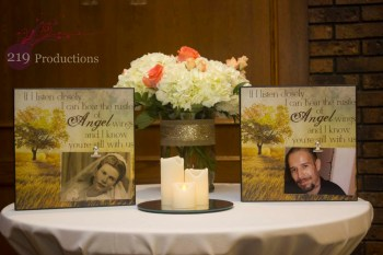 Wicker Park Wedding Memory Table