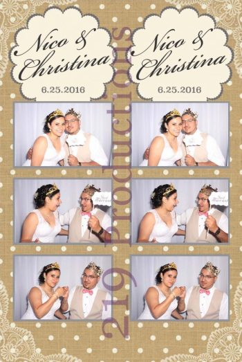 Wicker Park Wedding Photo Booth