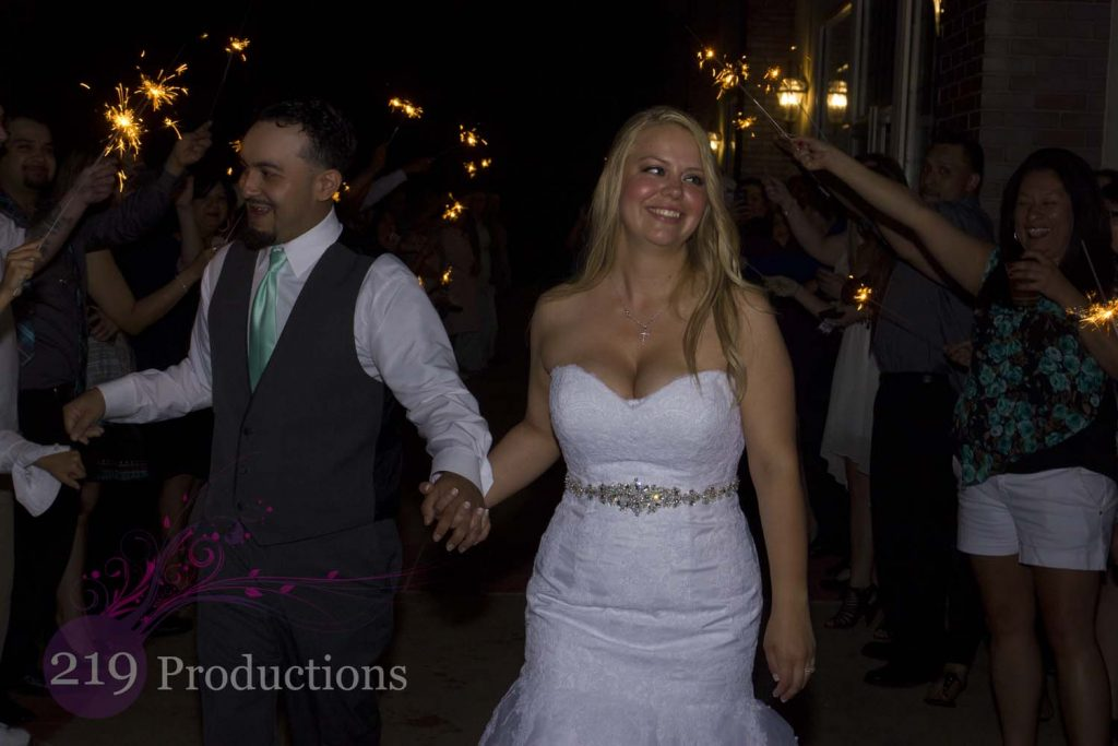 Avalon Manor Wedding Sparklers DJ