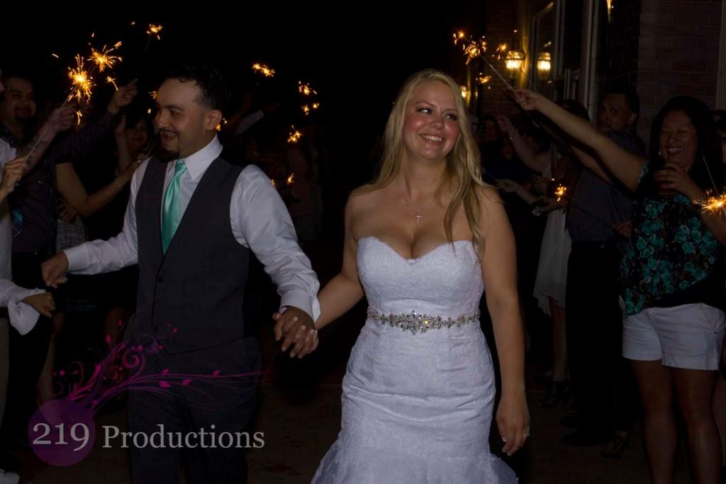Avalon Manor Wedding Sparklers DJ