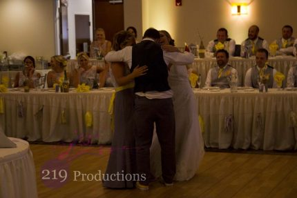Signature Banquets Wedding DJ Sister Brother Dance Barney
