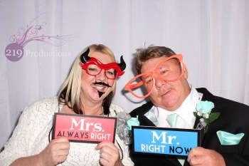 Patrician Banquets Photo Booth Signs