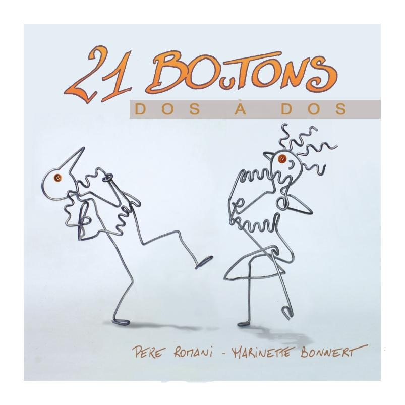 portada / couverture DOS A DOS - 21 BOuTONS
