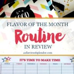 Flavor of the Month Routine in Review