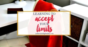 Learning to Accept Your Limits