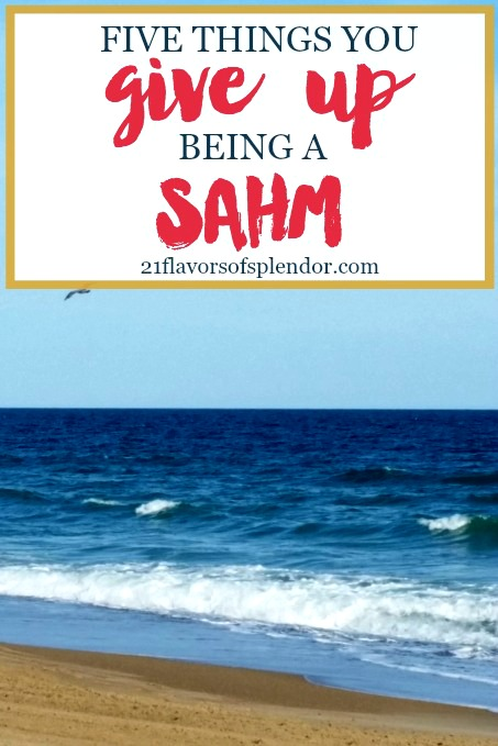 There are 5 things you give up being a SAHM other than work. Click… #momlife #sahm #perspective