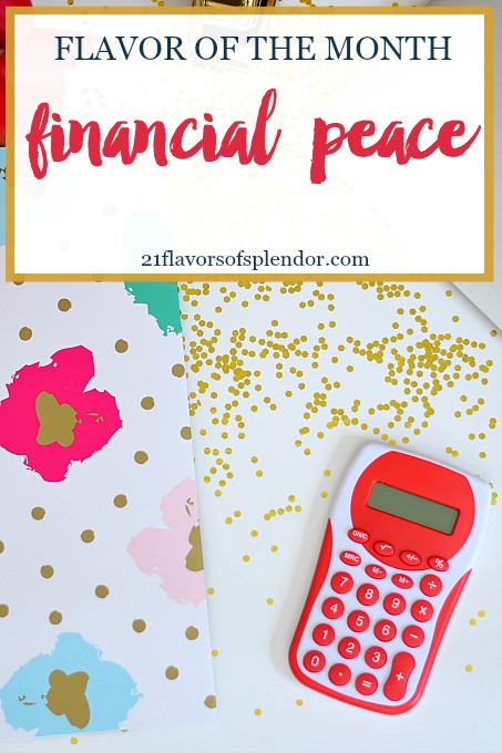 Financial Peace: Focusing on removing the barriers preventing you from having financial peace and discovering new tools to help you on your journey to financial freedom. Click...