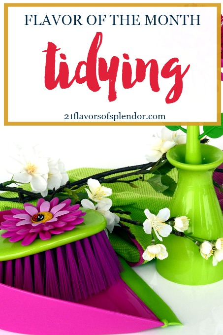 In the midst of spring-cleaning, we will focus a little less on our stuff and little more on different areas of our lives that may need some tidying. Click...