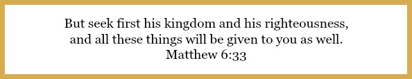 Matthew 6:33 on Financial Pioneering: Building a financial legacy at 21flavorsofspelndor.com
