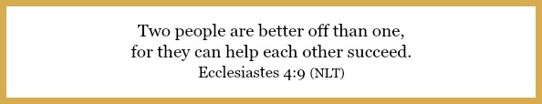 Ecclesiastes 4:9 on Learning to ask your husband for help at 21flavorsofsplendor.com