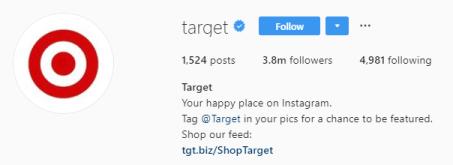скриншот шапки профиля интернет-магазина