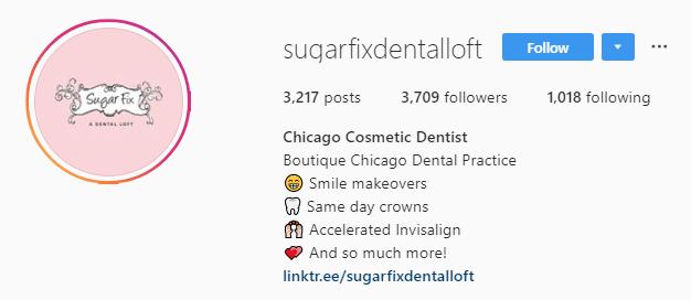 один список в стиле использует Sugar Fix Dental