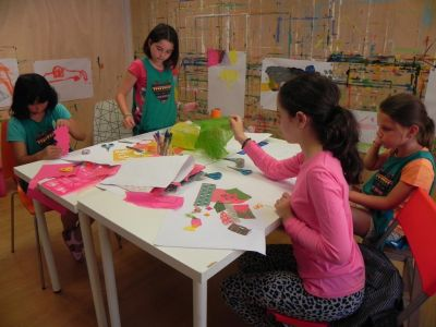 Taller De Collage Colonias De Verano 2016 07