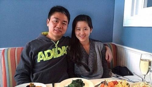 刘强东与奶茶妹妹