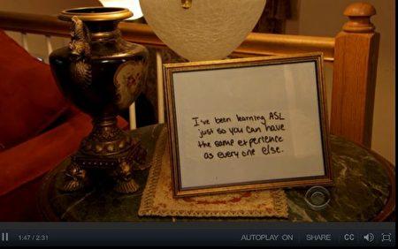 """匹拉查说:""""这是非常鼓舞人心的,所以我要把便条保存在一个框架内。""""(CBS视频截图)"""