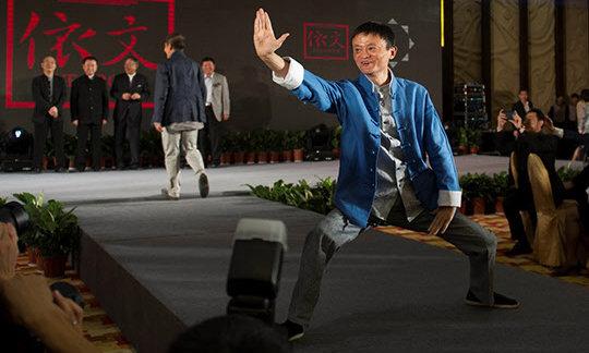马云谈徐晓冬太极拳风波:在武功中求胜,不如在武功中求胜己