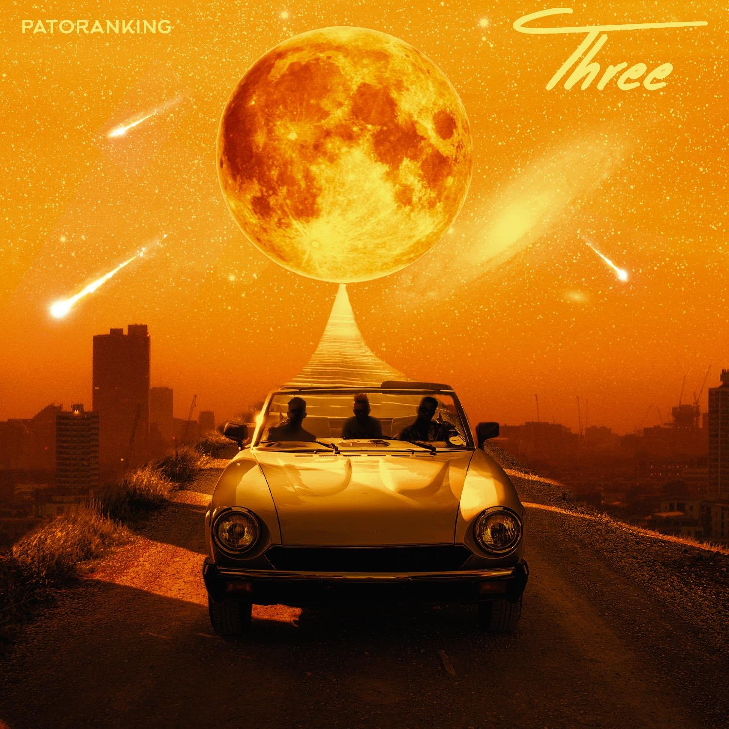 Album art review: Did Patoranking just share the cover to Three The Album his new studio LP that drops in weeks?