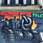 Graffiti Art Free Palestine at UCT: Photo, Conversations, Artist