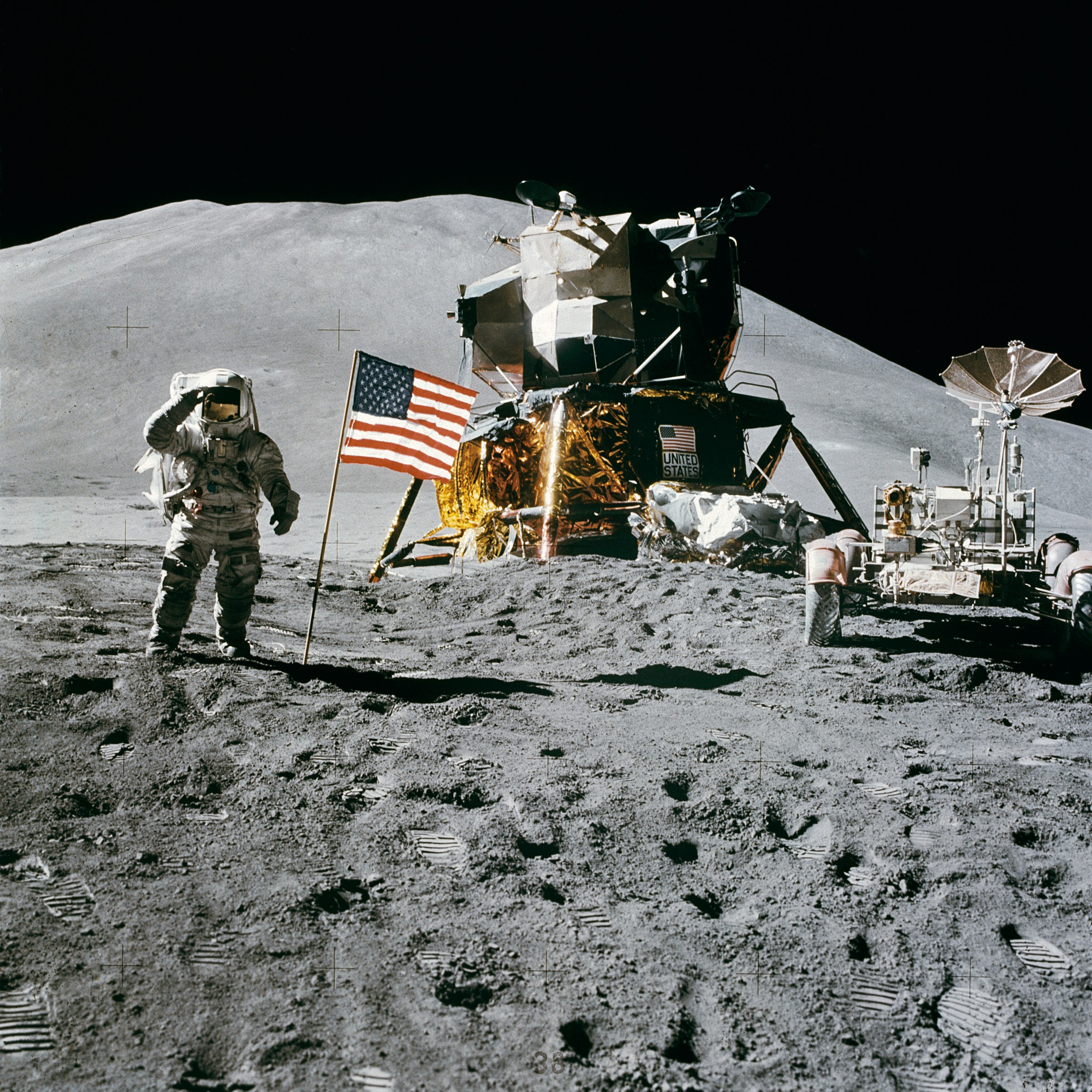 America sent a man to the moon, China has landed on it's far side. A new space race?