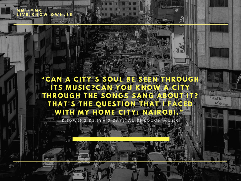 poster of discover Nairobi through music