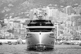 Porsche yacht