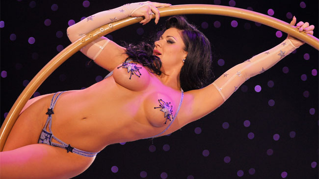 Roxi D'Lite's Burlesque Hall of Fame Weekend Diary