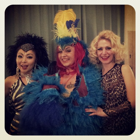 Erochica Bamboo, Bettie Blackheart and Minnie Tonka.  ©Minnie Tonka