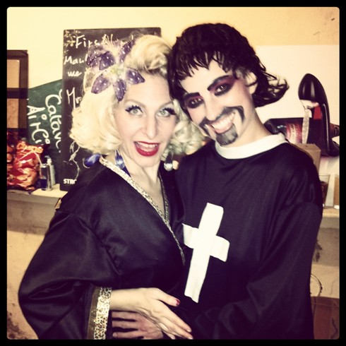 Minnie Tonka and Clea Cutthroat.  ©Minnie Tonka