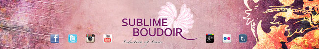 Sublime Boudoir: Sponsoring The Burlesque TOP 50 2013.