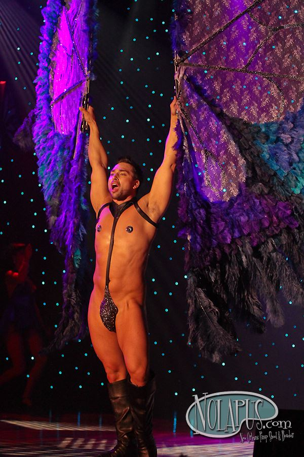 Jett Adore at The New Orleans Burlesque Festival 2013.  ©Andreas Koch