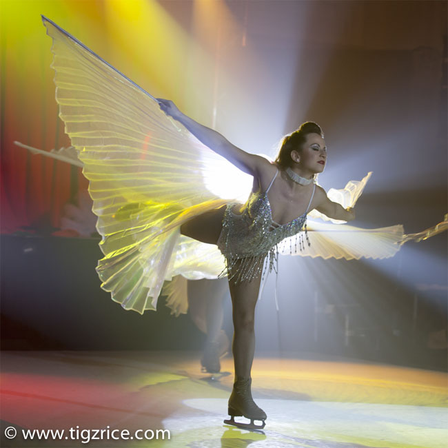 Keeping the best for last: The finale of Burlesque on Ice.  ©Tigz Rice  (Review: Burlesque On Ice)