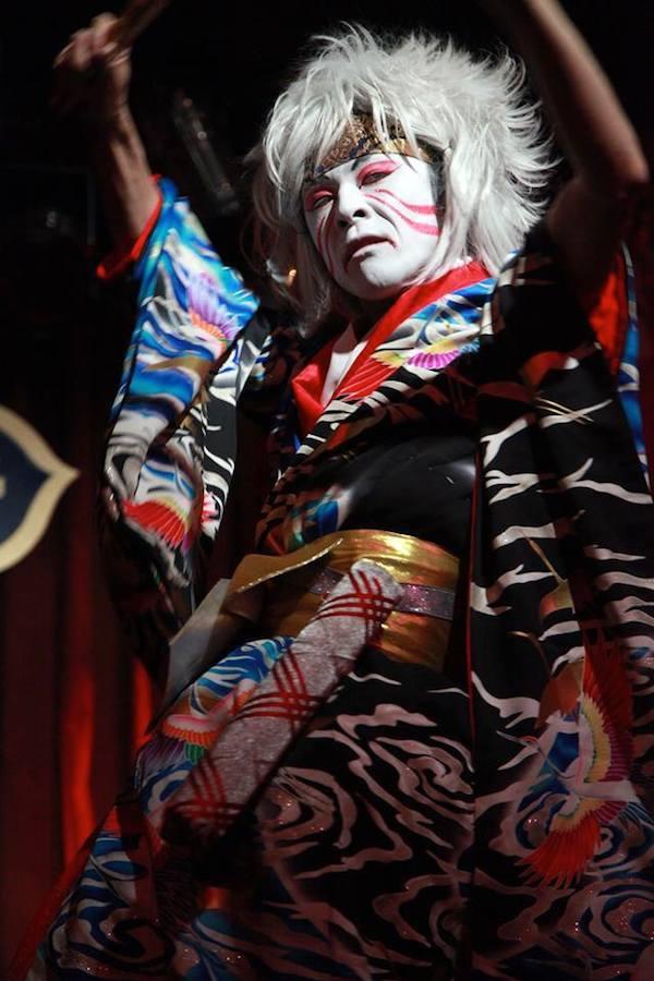 Gilbert de Moccos at the New York Boylesque Festival 2014.  ©Alexander Stevenson for NewNowNext
