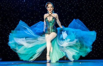 PHOTOS: Reigning Queen of Burlesque Runner Ups Medianoche and Ginger Valentine